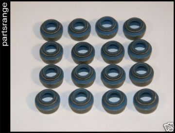 Rover V8 Neoprene Valve Guide Seals - Set of 16